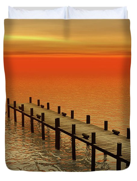 Summer Serenity Duvet Cover