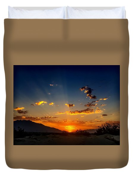 Summer Sky Duvet Cover by Chris Tarpening