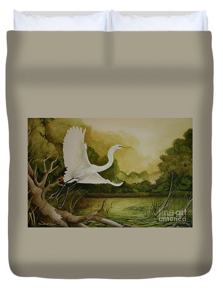 Summer Solitude Duvet Cover