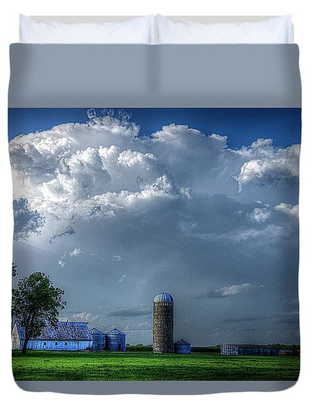 Summer Storm Clouds Duvet Cover