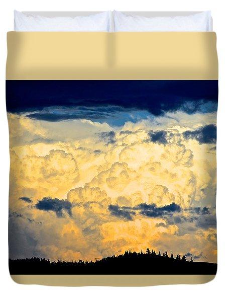 Summer Storm Duvet Cover