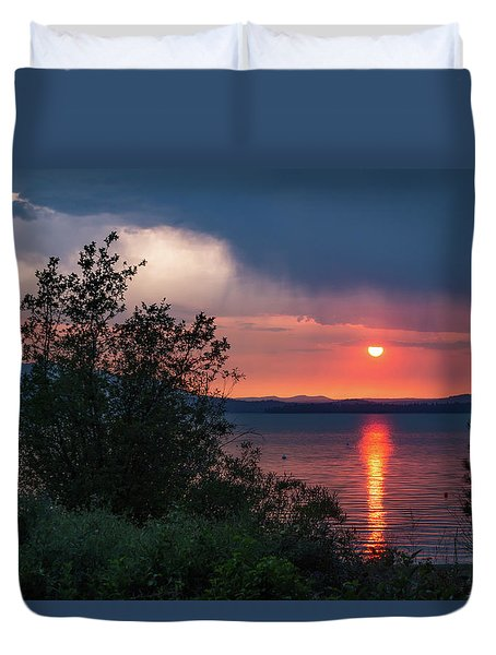 Summer Storm Duvet Cover by Jan Davies