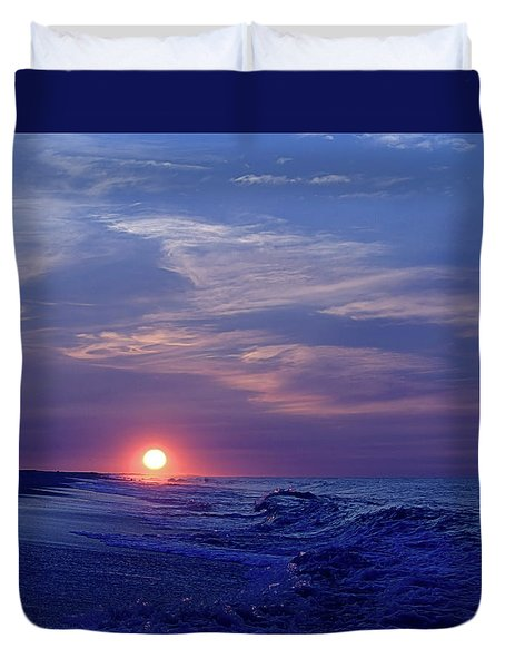 Summer Sunrise I I Duvet Cover