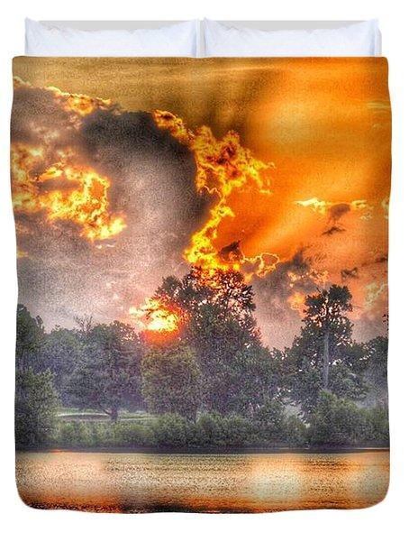 Summer Sunrise Number 1 - 2019 Duvet Cover