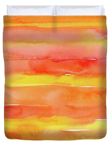 Summer Sunrise Duvet Cover