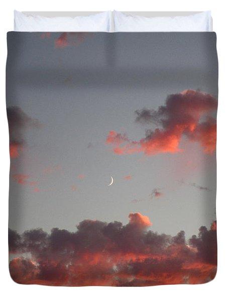 Summer Sunset #1 Duvet Cover