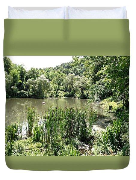 Summer Swamp Duvet Cover by James Guentner