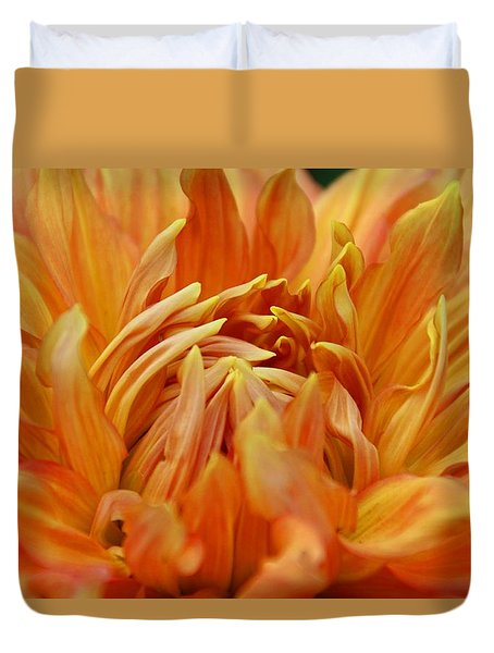Duvet Cover featuring the photograph Summer Tales by Michiale Schneider