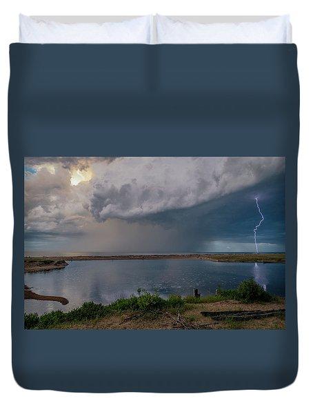 Summer Thunderstorm Duvet Cover