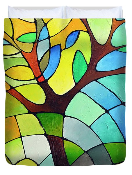Summer Tree Duvet Cover