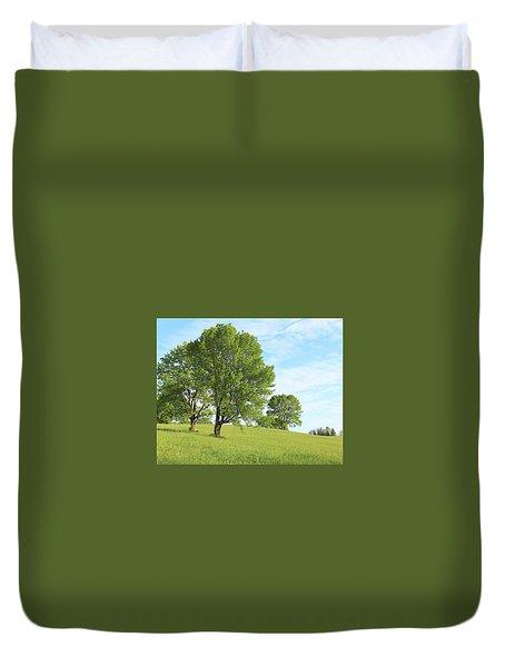 Summer Trees Duvet Cover