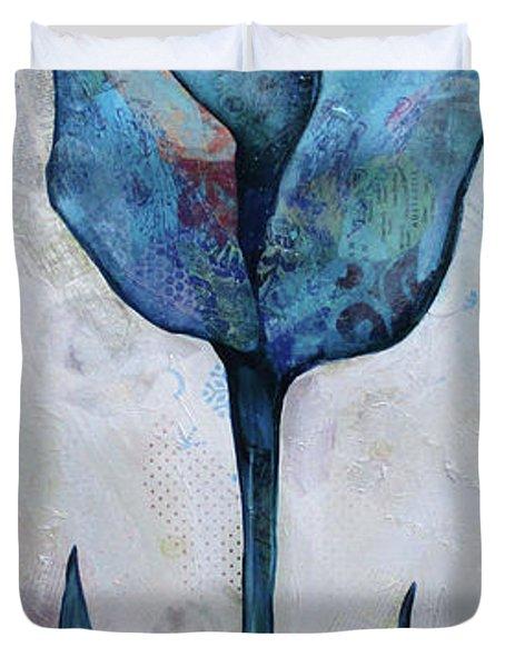 Summer Tulip I Duvet Cover
