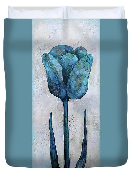 Summer Tulip II Duvet Cover