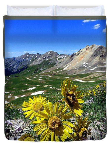 Summer Tundra Duvet Cover
