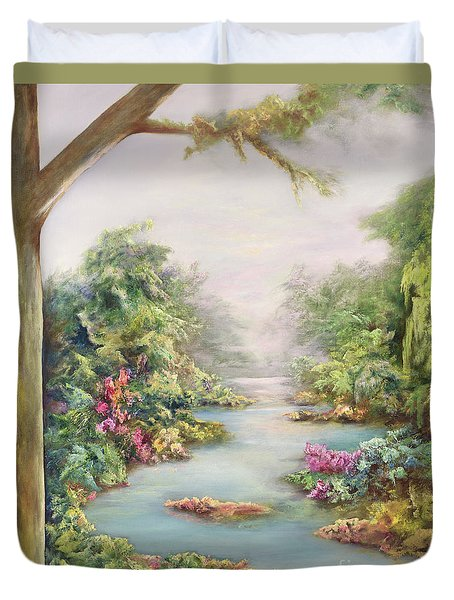 Summer Vista Duvet Cover by Hannibal Mane