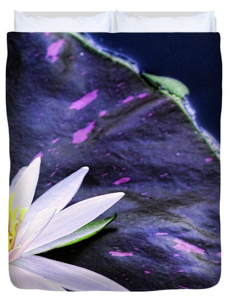 Summer Water Lily Duvet Cover