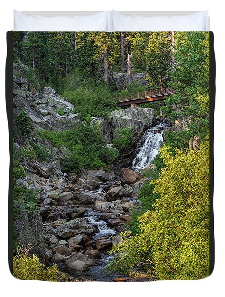 Summer Waterfall Duvet Cover