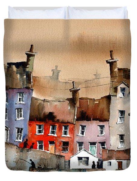Cork... Summercove, Kinsale. Duvet Cover