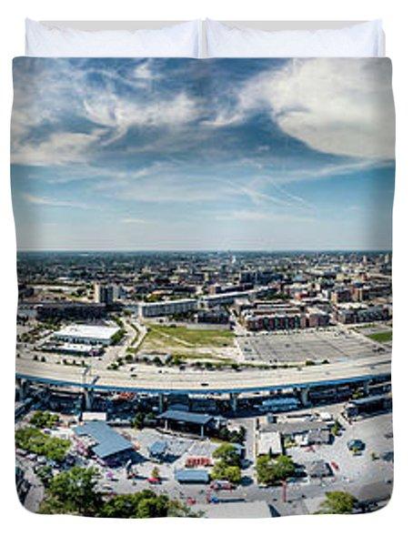 Summerfest Panorama Duvet Cover