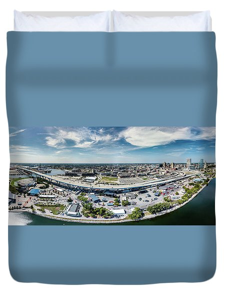 Summerfest Panorama Duvet Cover