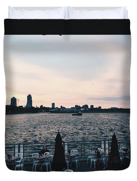 Summerfest Sunset Duvet Cover