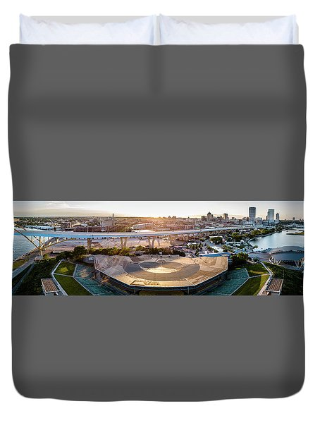 Summerfest Sunset Duvet Cover