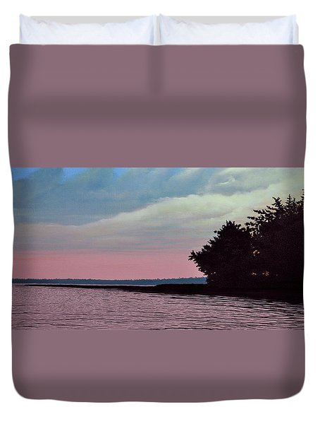 Summers Eve Duvet Cover by Kenneth M  Kirsch