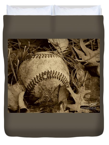 Summer's Lost Youth Square Photo Duvet Cover