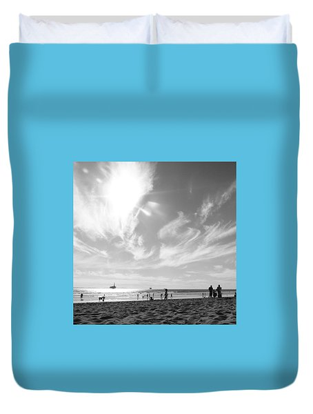 Summer's Sky Duvet Cover