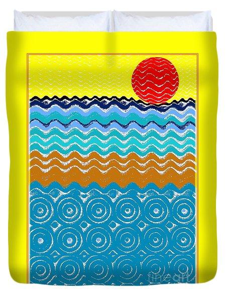 Summertime Duvet Cover