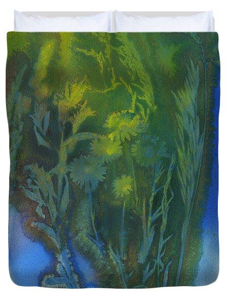 Summertime Impressions 3 Watercolor Duvet Cover