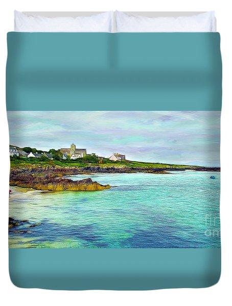 Summertime, Isle Of Iona Duvet Cover