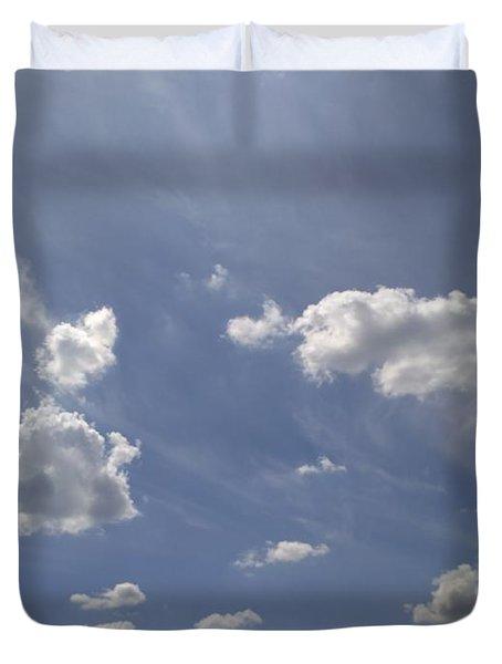 Summertime Sky Expanse Duvet Cover