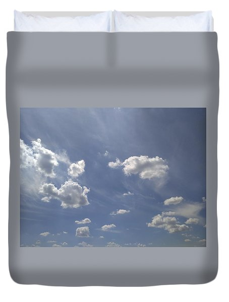Summertime Sky Expanse Duvet Cover by Arletta Cwalina