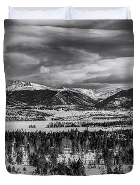 Summit County  Duvet Cover