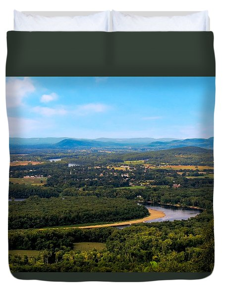 Summit House View Duvet Cover