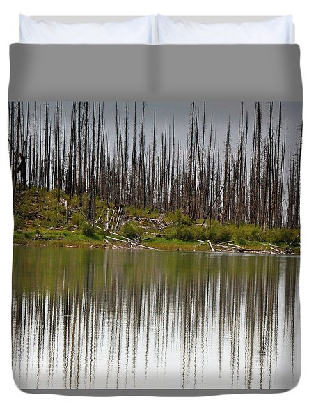 Summit Lake Duvet Cover