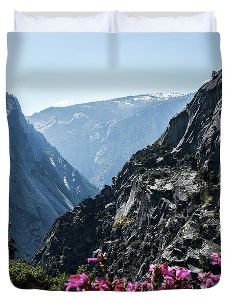 Summits Duvet Cover by Ryan Weddle