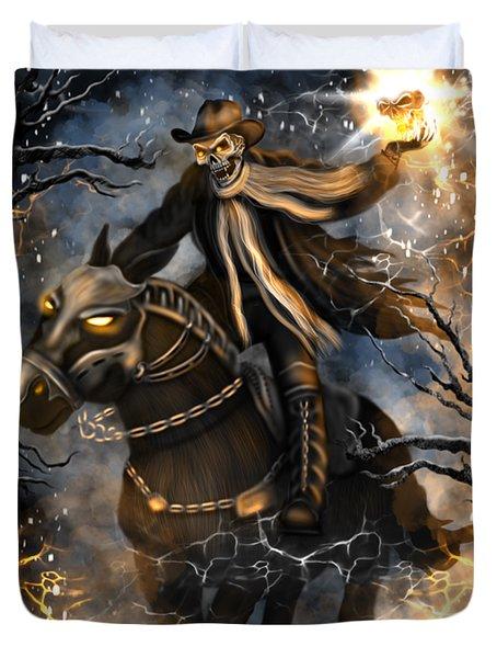 Summoned Skull Fantasy Art Duvet Cover