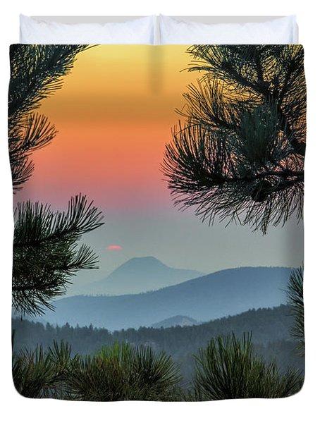 Sun Appears Duvet Cover
