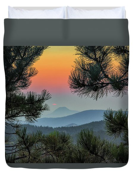 Sun Appears Duvet Cover