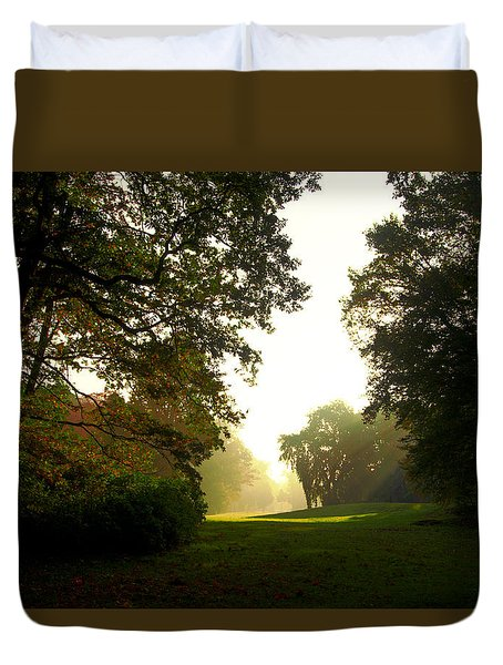 Sun Beams In The Distance Duvet Cover
