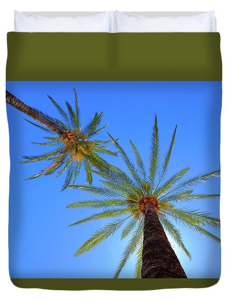 Sun Bed View Duvet Cover