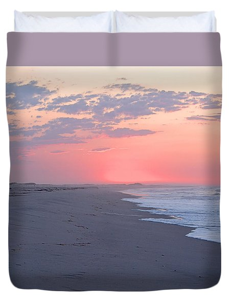 Duvet Cover featuring the photograph Sun Brightened Clouds by  Newwwman