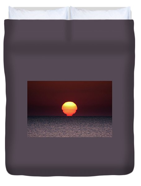 Duvet Cover featuring the photograph Sun by Bruno Spagnolo