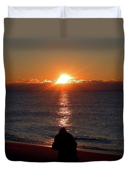 Sun Chasers I I I Duvet Cover