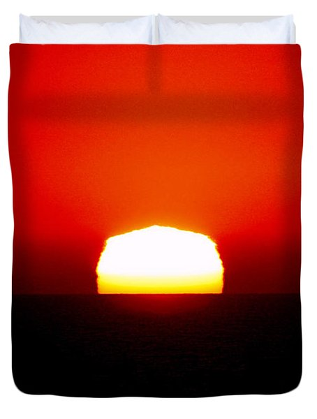 Sun Dipping Duvet Cover