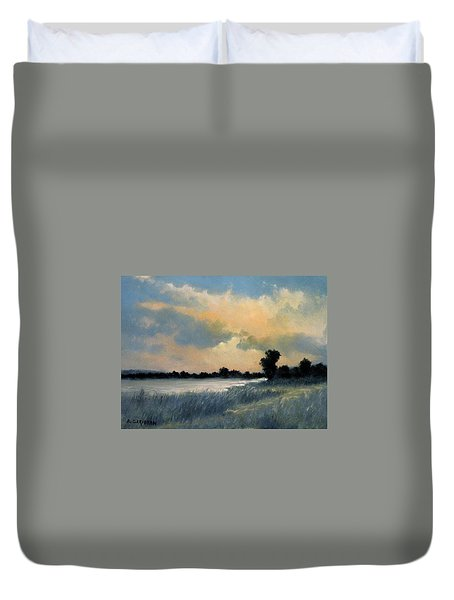 Sun Down Duvet Cover