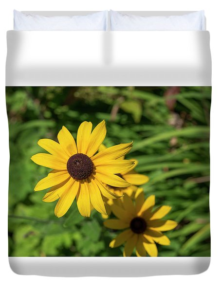 Sun Drenched Daisy Duvet Cover