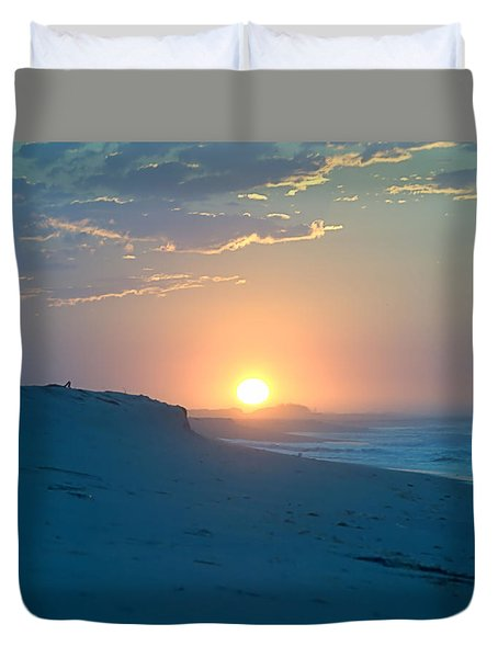 Duvet Cover featuring the photograph Sun Dune by  Newwwman